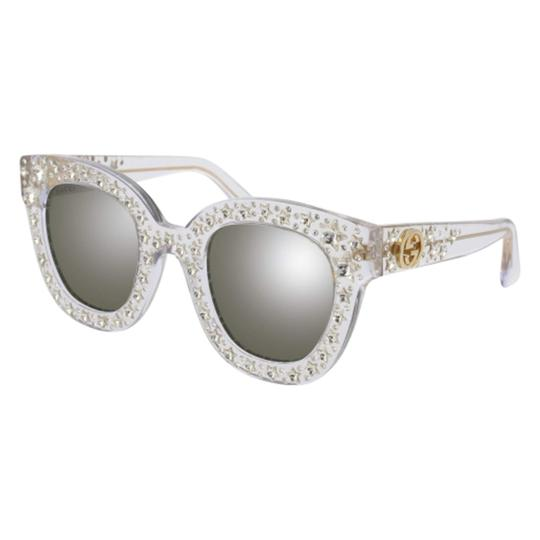 Preload https://img-static.tradesy.com/item/24462214/gucci-silver-new-gg0116s-oversized-crystal-star-mirrored-sunglasses-0-0-540-540.jpg