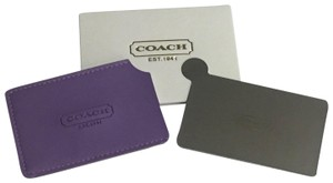 Coach COACH Limited Edition Stainless Steel Pocket Mirror
