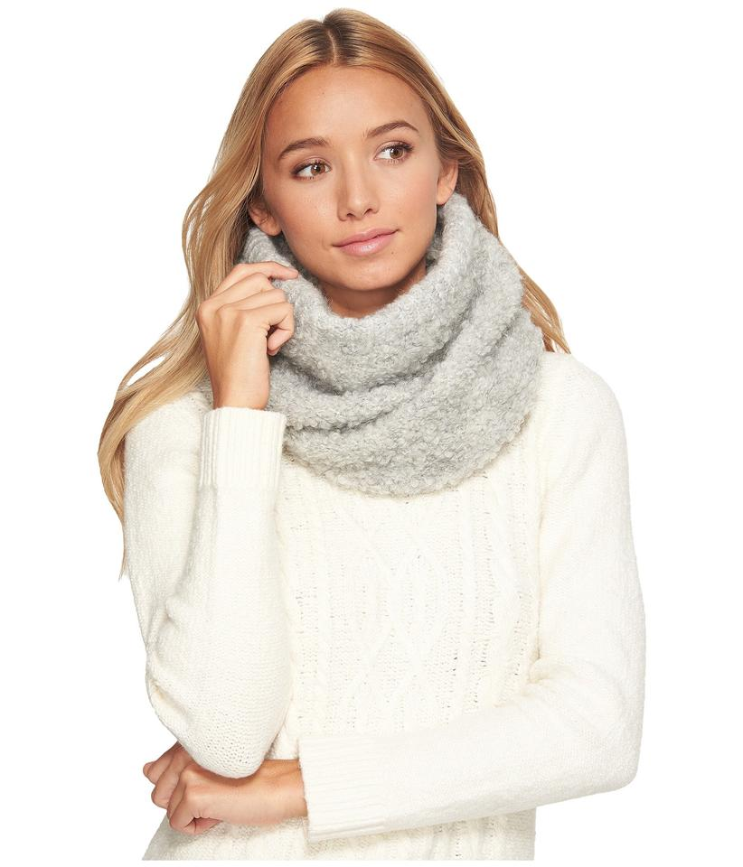 07dbe7707a8 UGG Australia Grey Solid Lofty Snood Light Scarf/Wrap