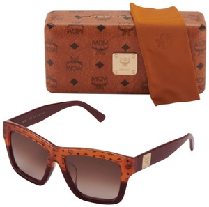 66cb157db5 MCM MCM Sunglasses MCM607SA 810 56 ORANGE VISETTOS BORDEAUX Brown