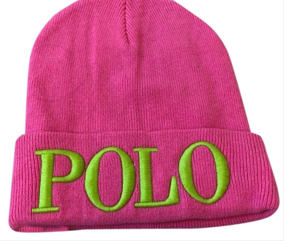 Polo Ralph Lauren Pink Fitted Hat - Tradesy 53871e61bc00