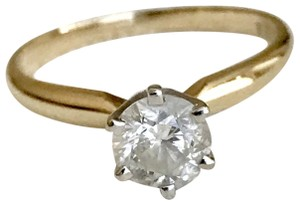 Zales Zales Diamond Solitaire Engagement Ring In 14k Gold Size 5