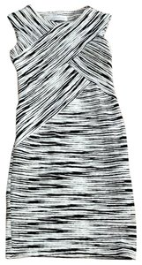 Calvin Klein short dress Black and Ivory on Tradesy