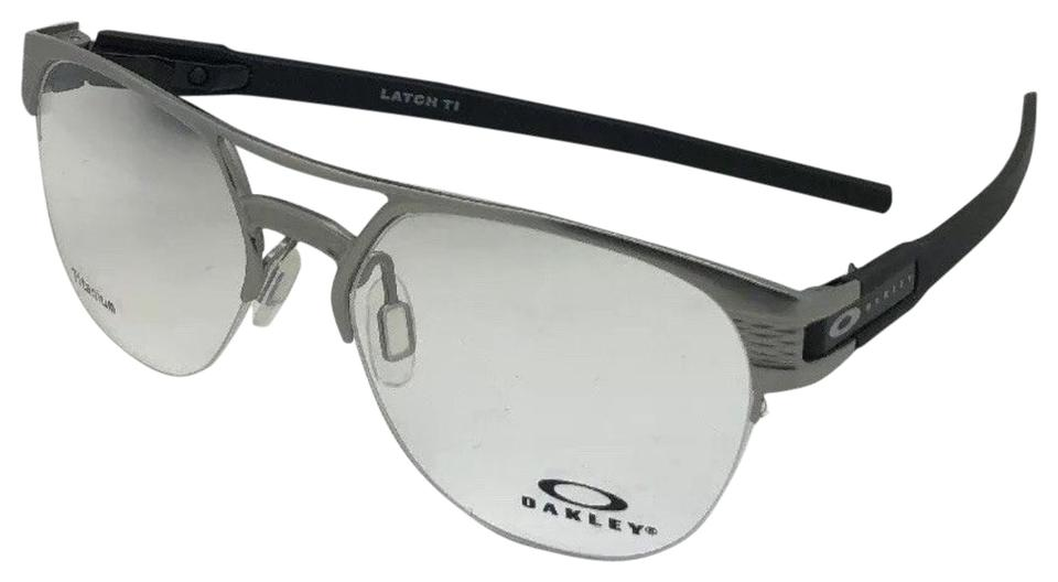 56ff96a3b57e4 Oakley OAKLEY Eyeglasses LATCH TI OX5134-0354 54-17 137 Satin Chrome  Titanium Image ...