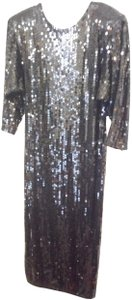 Oleg Cassini Sequin Vintage Dress
