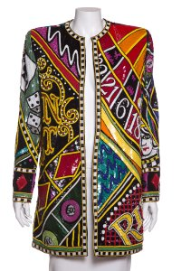 Bob Mackie Multicolor Jacket