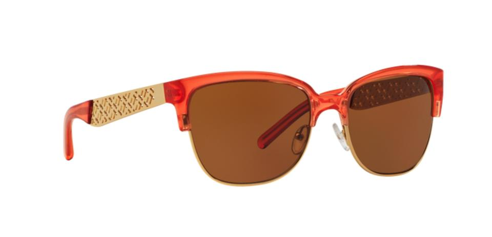 f4c5bf86b13 Tory Burch New 6032 1540 73 56-18 140 Spark Crystal   Gold W  Brown Lenses  1540 73 Crystal-gold Sunglasses