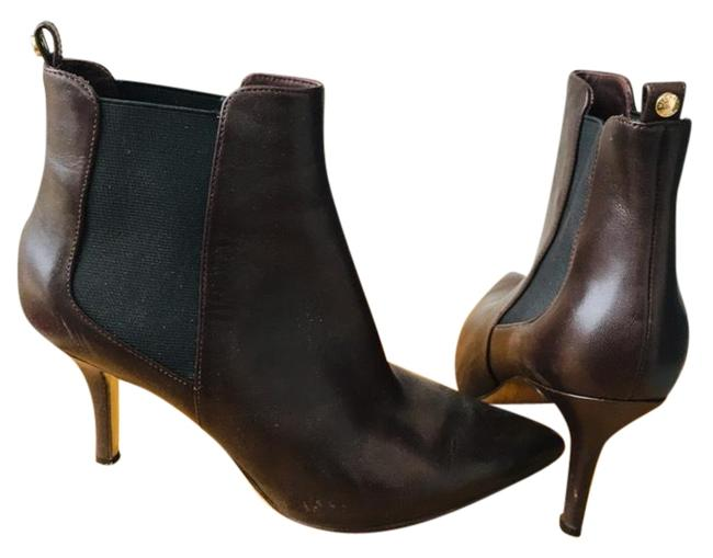 Item - Brown Leather Ankle Boots/Booties Size US 8.5 Regular (M, B)