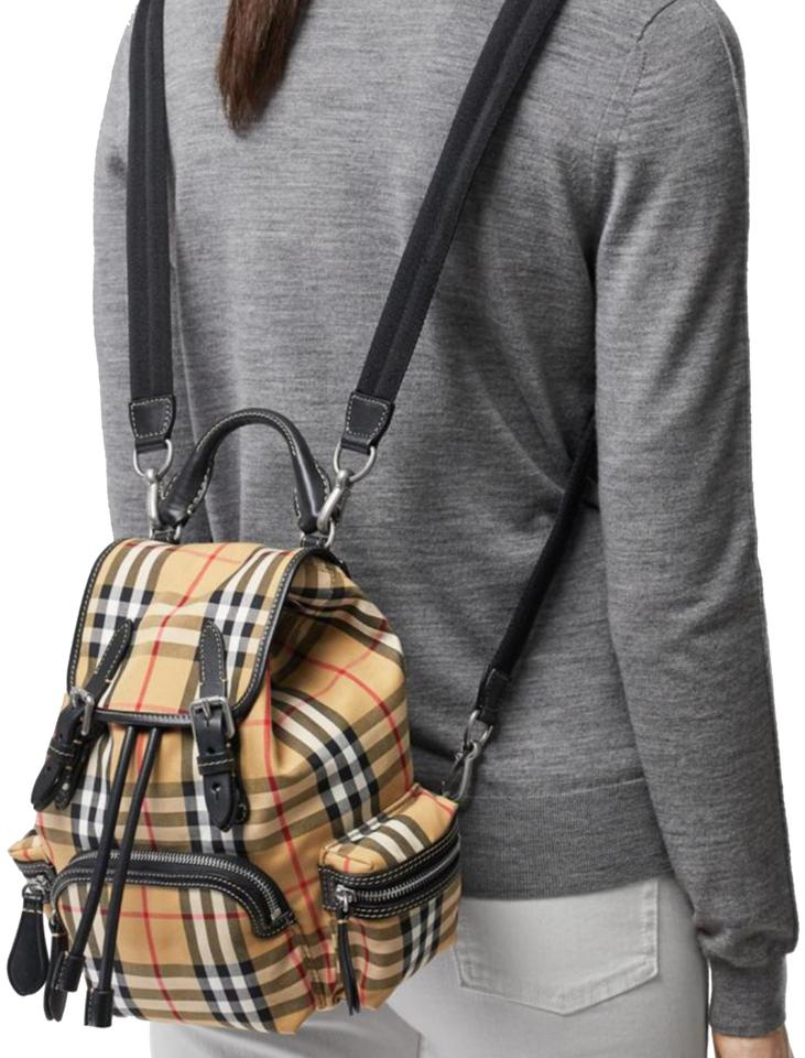 843ba63917ea Burberry London The Small Rucksack In Vintage Check and Leathe ...