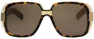 Gucci NEW Gucci GG0318S 0318S Vintage Look Square Oversized Sunglasses