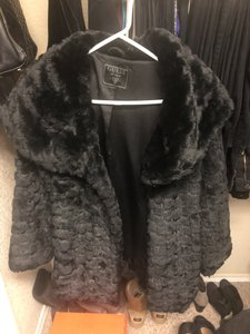 Guess By Marciano Jacket Faux Clothing Fur Coat