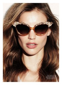 Dsquared2 NEW Dsquared DQ0118 Swarovski Crystal Limited Edition Cat Eye