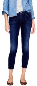 Goldsign Capri/Cropped Denim-Dark Rinse