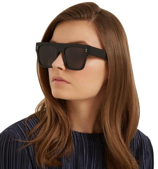 Preload https://img-static.tradesy.com/item/24465261/stella-mccartney-black-new-sc0119s-square-oversized-flat-top-sunglasses-0-1-540-540.jpg