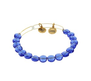 Alex and Ani Bangle Bracelet Sapphire Luxe Bangle
