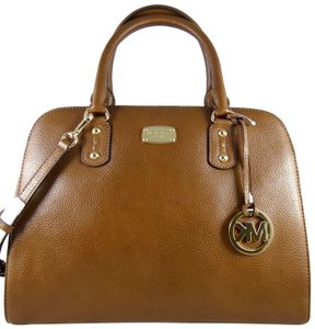 Michael Kors Leather 190864429090 Satchel in Luggage
