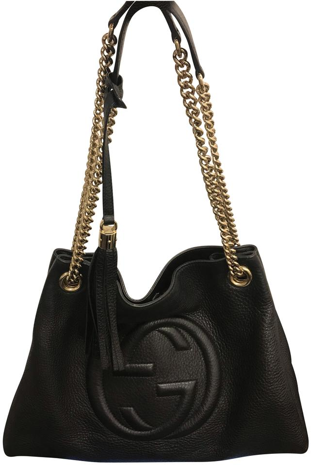 57150e939fe1f Gucci Soho Black Leather Hobo Bag - Tradesy