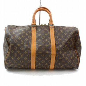 Louis Vuitton Sdy 40 Keepall 50 Duffle Gym Brown Travel Bag