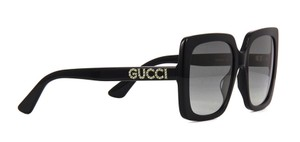 Gucci w/ Swarovski Crystals Square Style GG0418s 001 -FREE and FAST SHIPPING - Square