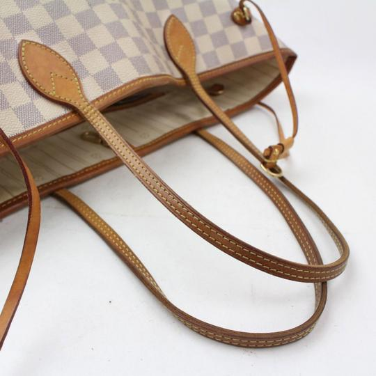 Louis Vuitton Neverfill Neverfold Neverfull Cream Neverfull Gm Tote in White Image 11