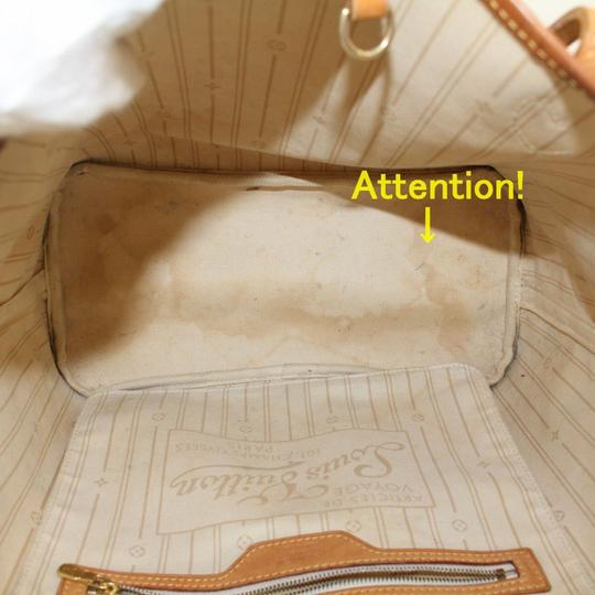 Louis Vuitton Neverfill Neverfold Neverfull Cream Neverfull Gm Tote in White Image 2