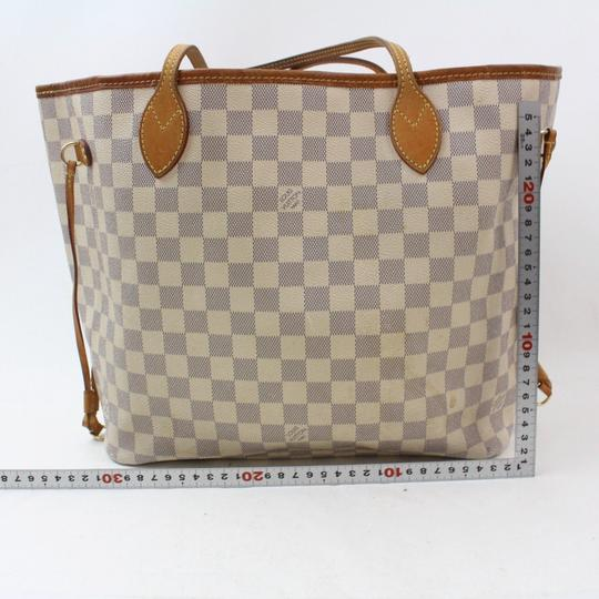 Louis Vuitton Neverfill Neverfold Neverfull Cream Neverfull Gm Tote in White Image 6