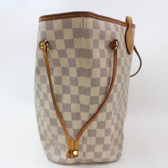 Louis Vuitton Neverfill Neverfold Neverfull Cream Neverfull Gm Tote in White Image 7