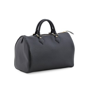 Louis Vuitton Keepall Boston Duffle Speedy Speedie Satchel in Black