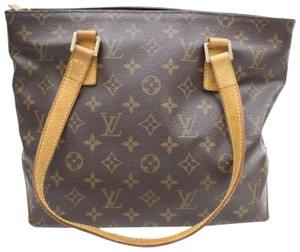Louis Vuitton Cabas Mezzo Neverfull Vavin Luco Tote in Brown