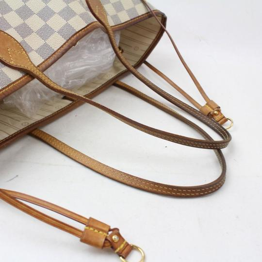 Louis Vuitton Never Full Neverfill Neverfold Neverfull Neverfull Gm Tote in White Image 4