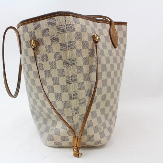 Louis Vuitton Never Full Neverfill Neverfold Neverfull Neverfull Gm Tote in White Image 7