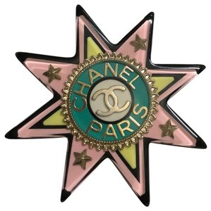 Chanel Limited Runway Cuba Collection Star Brooch Pin