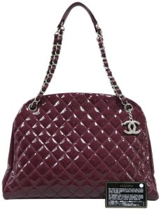 Chanel Just Bowling Mademoiselle Vernis Shoulder Bag