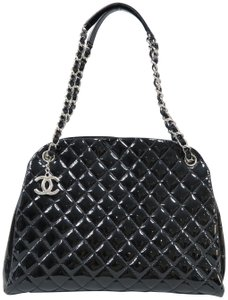 Chanel Vernis Mademoiselle Large Bowling Shoulder Bag