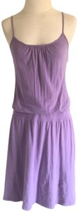 James Perse short dress Lavender on Tradesy