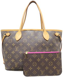 Louis Vuitton Lv Neverfull Canvas Tote in monogram
