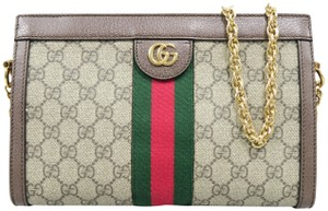 12bb6ec4d0a Added to Shopping Bag. Gucci Ophidia Canvas Small Shoulder Bag. Gucci 2018  Small Gg Supreme ...