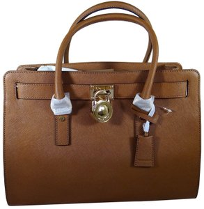 Michael Kors Leather 190049717783 Satchel in Luggage