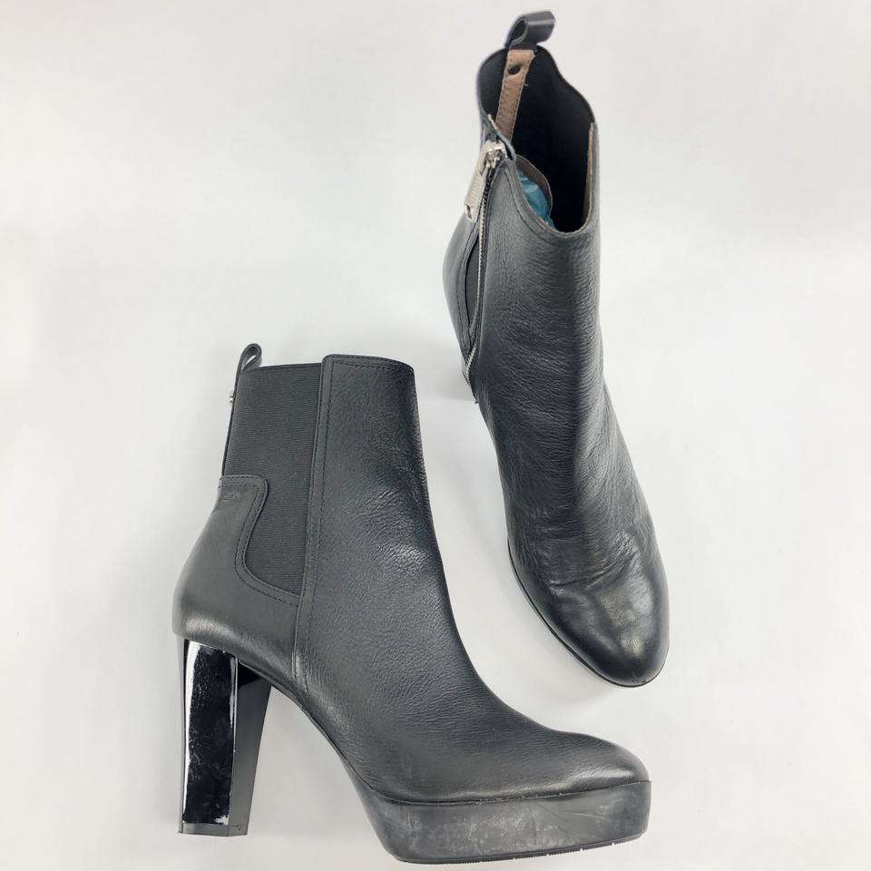 135f4f04902f Donald J. Pliner Black Milan 2 Ankle Gore Pull Up Heels Chelsea Boots  Booties Size US 10 Regular (M