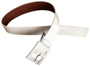 Marciano patent leather wide belt
