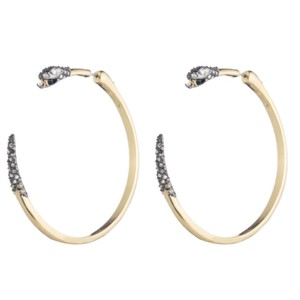 Alexis Bittar Brand New! Alexis Bittar Two Part Snake Hoop Earring