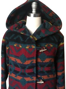 Woolrich Vintage Western Toggle Closure Drop Shoulder Relaxed Fit Rare Pea Coat