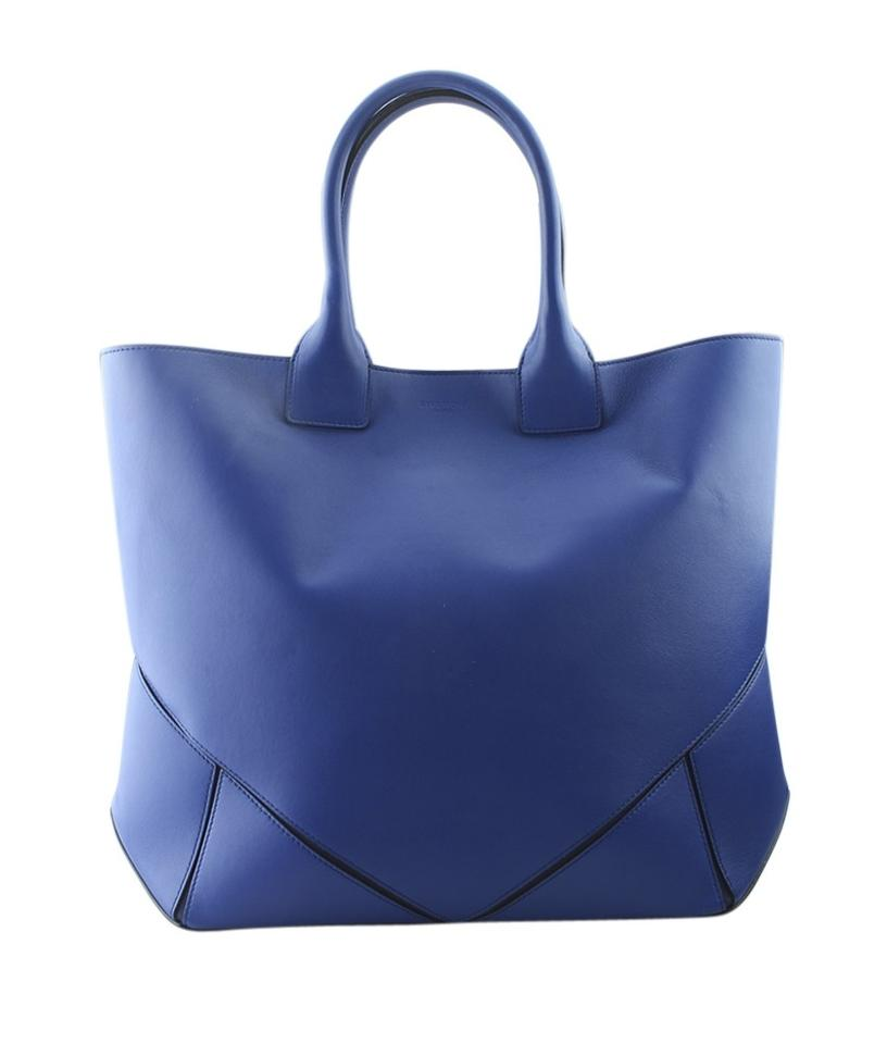 Givenchy Leather Pre-owned Silver-tone Italy Tote in Blue ... 99cc938fd422a