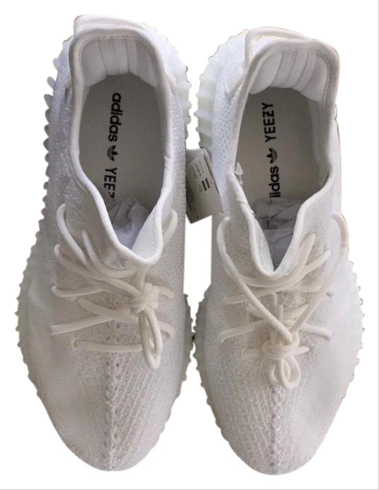 4ea1f0f7c65 adidas X Yeezy White New Boost 350 V2 Triple Sneakers Size US 10.5 ...