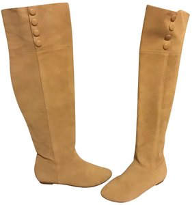 Chinese Laundry cream beige Boots