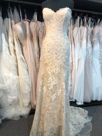 Maggie Sottero Ivory Gold Ombre Lace