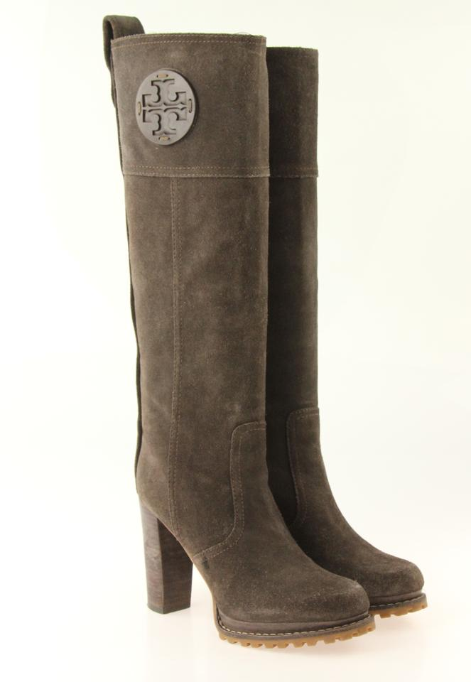 8d74e4d3e472c Tory Burch Brown Claudia Boots Booties Size US 7 Regular (M
