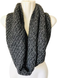 Christopher Fischer knit chunky scarf cowl neck wool metallic