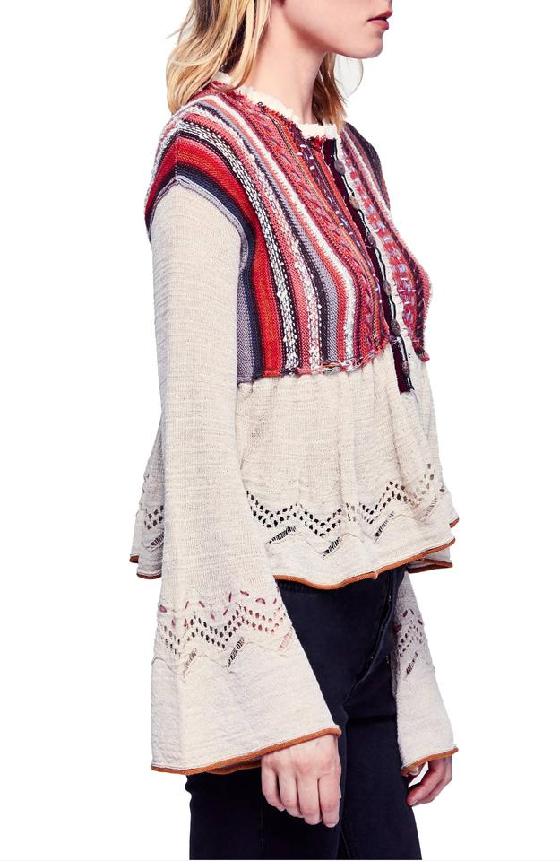 040908444 Free People Meadow Lakes Sweater - Tradesy