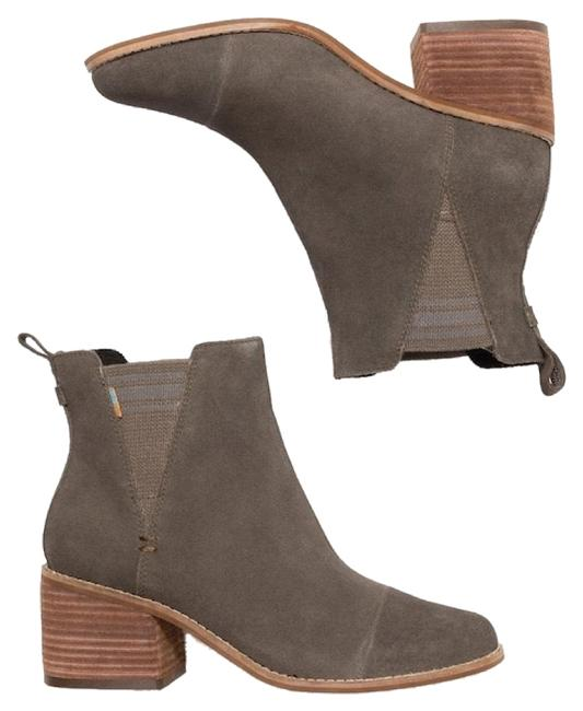 Item - Olive Tarmac Suede Women's Esme Boots/Booties Size US 7.5 Regular (M, B)